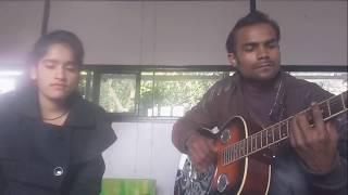 | Kitabein bahut si | duets live guitar  cover | pushkar singh | sita dhiman |chords in the descrip.