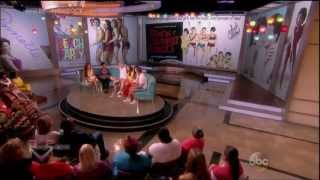 the View - Teen Beach Movie Cast - Interview and Surf Crazy Performance [HD]