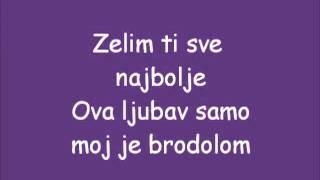 Zeljko Joksimovic-Nije ljubav stvar Tekst Eurovizija 2012