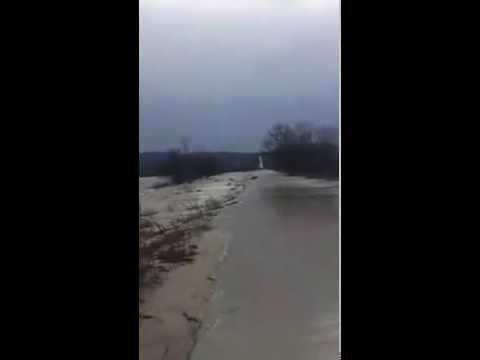 Bulgaristan'da Yaşayan Trakyalı Vatandaşın Nehir Taşmasına İsyanı