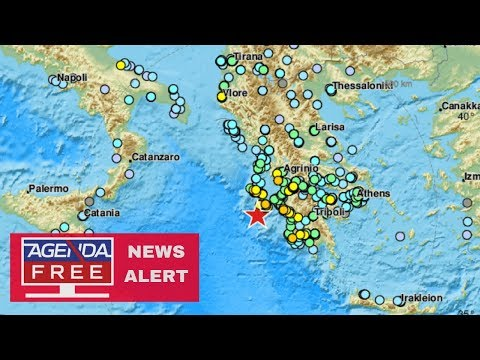 6.8 Earthquake off Coast of Greece - LIVE COVERAGE