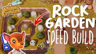 FAUNA'S ROCK GARDEN: SPEED BUILD // ANIMAL CROSSING NEW HORIZONS