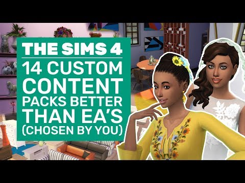 14 Sims 4 CC Packs That Are Better Than EAs   YOUR Best Custom Content Packs