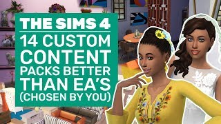 14 Sims 4 CC Packs That Are Better Than EAs | YOUR Best Custom Content Packs