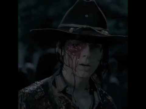 Walking Dead Carl Auge