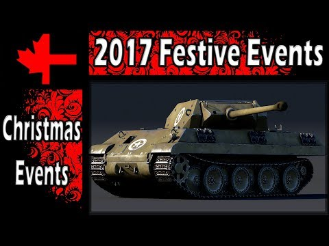 War Thunder - 2017 Festive Events