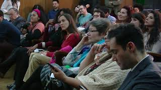 Pino Solanas en el Homenaje a Marielle Franco en el Senado de la Nación