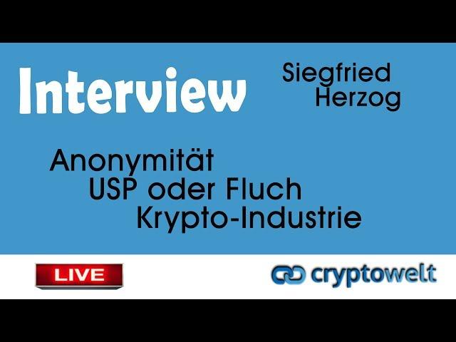 Anonymität - USP oder Fluch der Kryptoindustrie