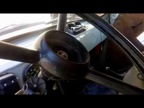 Как снять руль с буханки