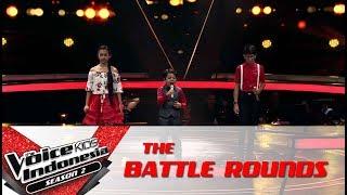 "Ellen & Michael & Krisna ""My Immortal"" | Battle Rounds | The Voice Kids Indonesia S2 GTV 2017"
