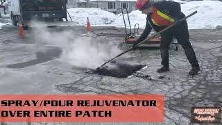HDE P200 Infrared Asphalt Heater - Pothole Repair with Hot In Place Asphalt Patching