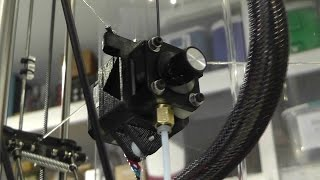 Speed Testing The New Extruder Gantry Setup On My Delta Rostock 3D Printer