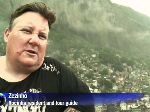 Tourists flock to drug-infested favela