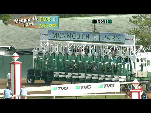video thumbnail for MONMOUTH PARK 09-26-20 RACE 8