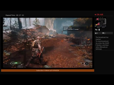 The Electronic Gamers Night Plays God of War