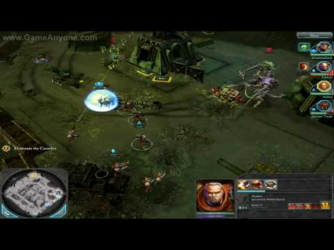 """Dawn of War 2 Campaign HD Part 46 """"Monsters of Meridian""""  """