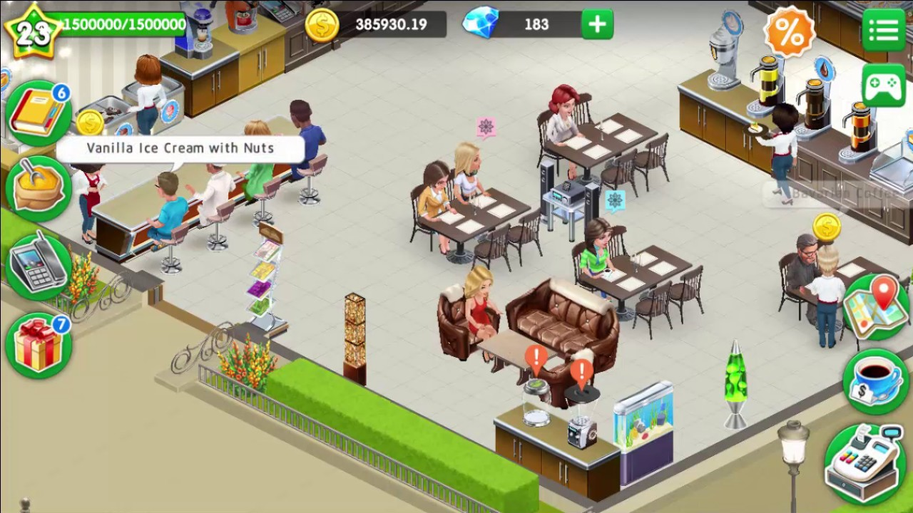 My Café: Recipes & Stories # 116 Reached Level 24