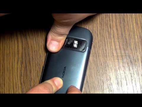 Nokia 701 в руках