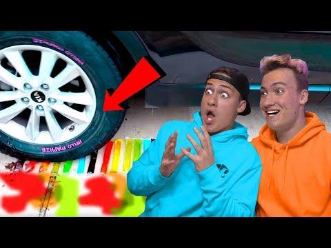 Mașină vs Obiecte ! (Satisfăcător)