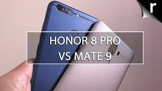 Honor 8 Pro vs Huawei Mate 9: Battle of the beasts