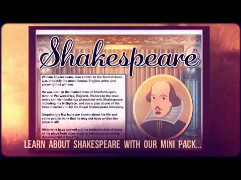 The Shakespeare Mini Pack - Teaching Resources
