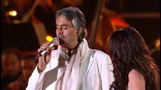 Andrea Bocelli & Sarah Brightman  Con te partiro   Time to say goodbye   HD   live