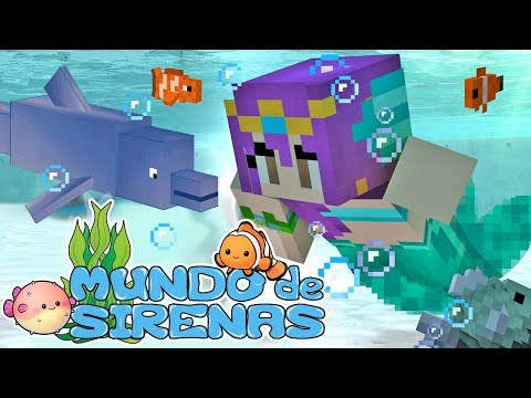 🐳 Mundo de Sirenas 🐬 - Trailer -Minecraft