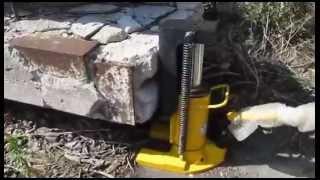 Домкрат гидравлический  с низким подхватом(Домкрат гидравлический с низким подхватом, предназначен для поднятия оборудования и тяжелых металлически..., 2014-08-11T08:44:17.000Z)