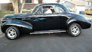 Colorado 1939 Buick Coupe Electric Cutouts