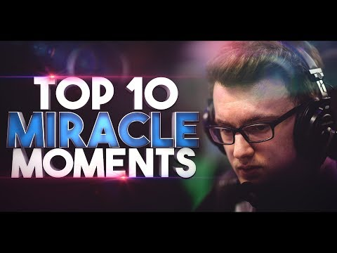 Miracle- TOP 10 Moments In Team Liquid - BEST Highlights Movie Dota 2