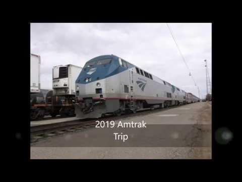 Amtrak's Empire Builder - Whitefish Montana Trip 2019