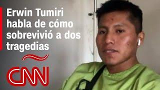 Erwin Tumiri, sobreviviente de la tragedia del Chapecoense y del accidente en Bolivia, habla con CNN