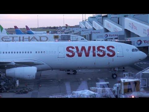 SWISS Airbus A340-300 HB-JMA LX 289 Johannesburg-Zurich Economy Class Trip Report