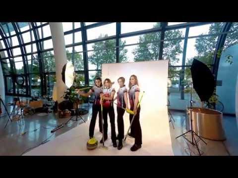 Shooting mit der Deutschen Frauen Nationalmannschaft im Curling