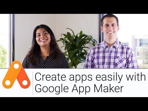 Create Apps Easily with App Maker   The G Suite Show