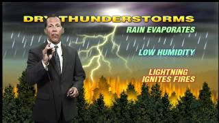 What is dry lightning?