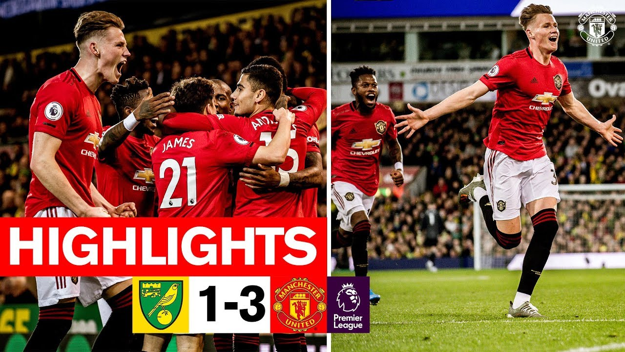 Manchester United vs. Norwich City - Football Match Report ...