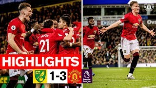 HIGHLIGHTS  Norwich City 1-3 Manchester United  Premier League 201920