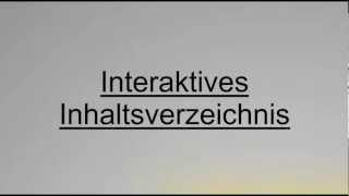 Interaktives Inhaltsverzeichnis AppNetworks