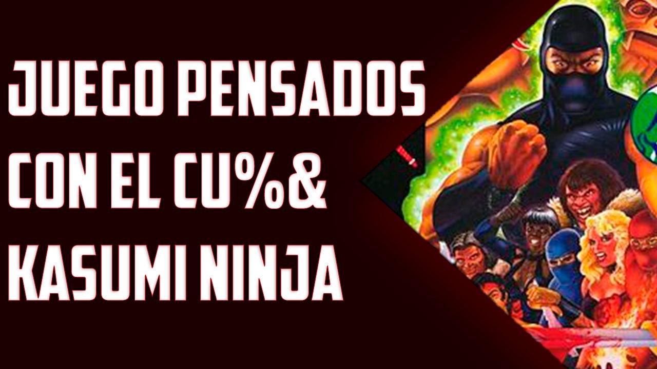 Juegos Pensados Con El Cu Kasumi Ninja Atari Jaguar Youtube