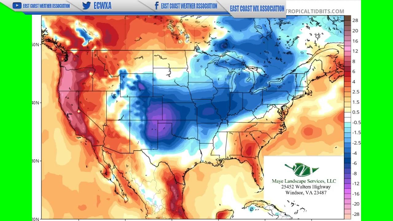 US Long Range Weather Outlook SpringSummer YouTube - Us weather map 5 1 2017