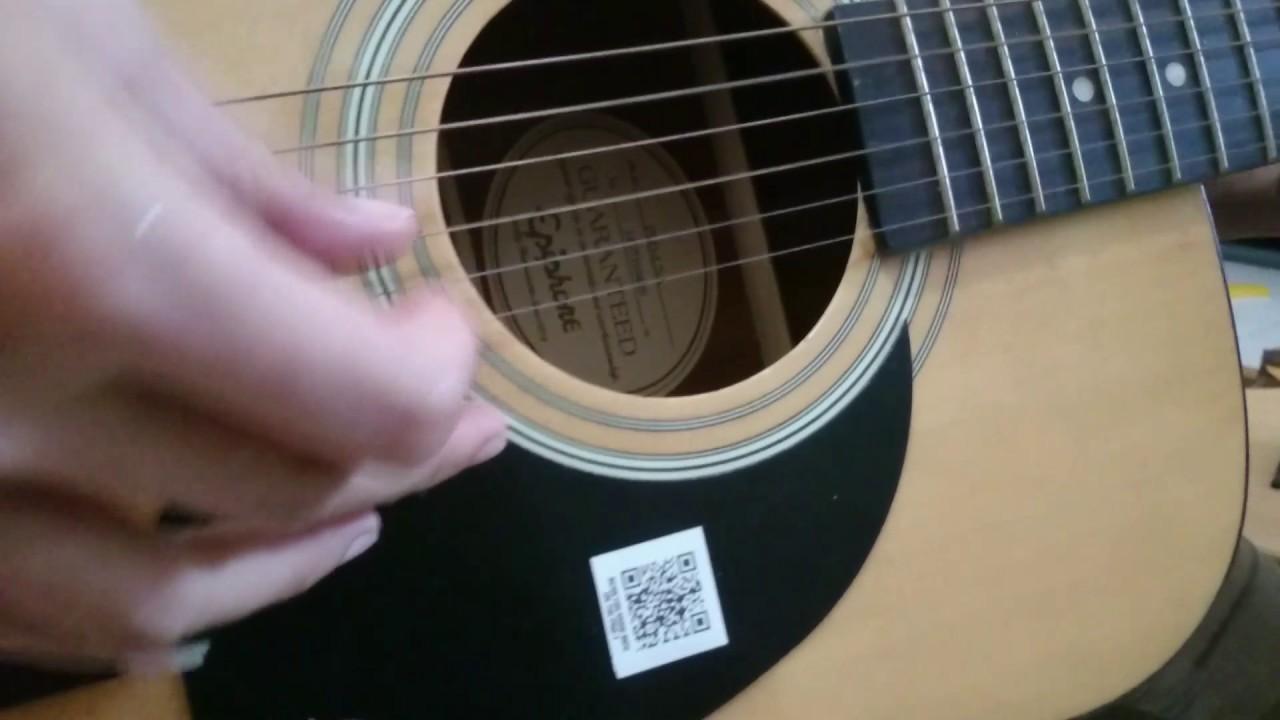 Gitar Akustik Elektrik Epiphone Pro1 Na Original Biulup Taiwan By