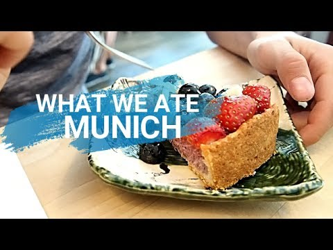 WHAT WE ATE IN MUNICH | VEGAN COUPLE | TRAVELING