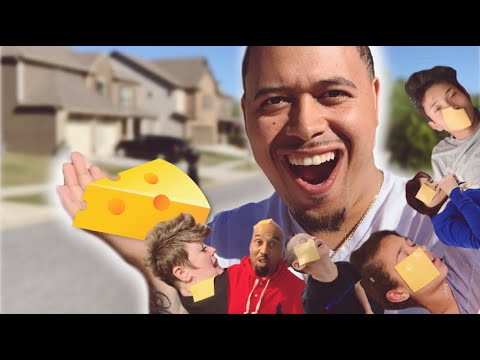 CHEESE CHALLENGE ON MY ENTIRE FAMILY! (HILARIOUS) | MIGHTYDUCK