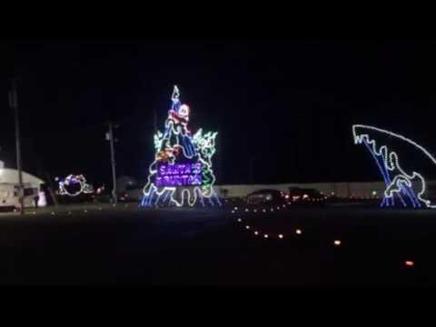 Butler Christmas Lights 2016 - YouTube