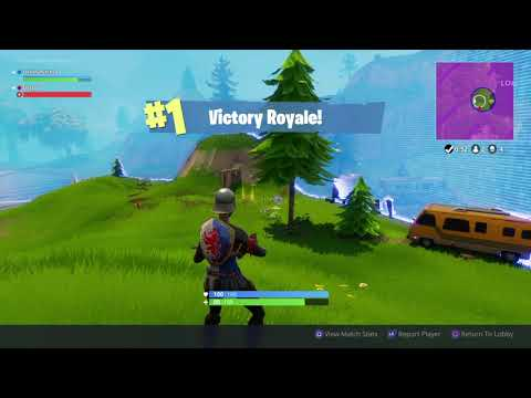One of my first Fortnite wins.