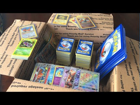 UNBOXING A POKEMON CARDS MYSTERY BOX FROM A FAN!