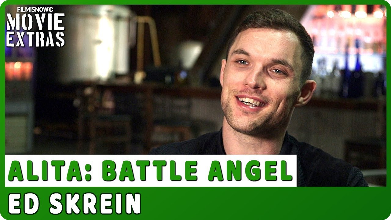 ALITA: BATTLE ANGEL | On-set Interview with Ed Skrein