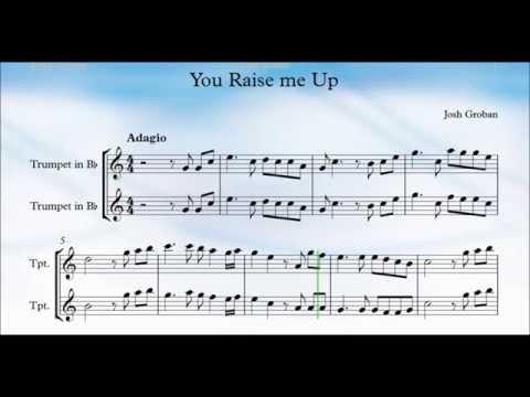 You Raise Me Up Trumpet
