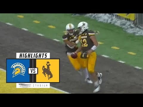 San Jose State vs. Wyoming Football Highlights (2018) | Stad